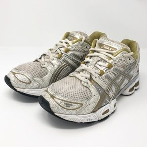 ASICS Gel White Running Shoes Sneakers Size 7.5